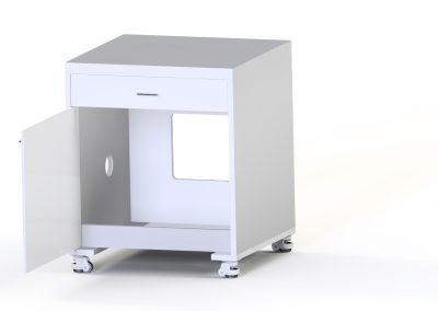 stół drewniany 350i otworzony